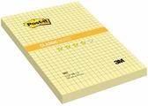 """Бумага для заметок """"Post-it"""", с липким слоем, цвет: желтый, 100 листов. 662"""