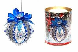 """Новогодний шар из пайеток """"Северное сияние"""", набор для творчества (Волшебная мастерская)"""