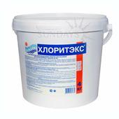 Средство для дезинфекции воды Маркопул Кемиклс Хлоритекс, ударный хлор в гранулах (ведро), 4 кг