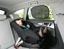 Шторка солнцезащитная для стекла автомобиля на присоске 2 шт Safety 1st TWIST'N'FIX (артикул 38044760)