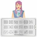 Пластина для стемпинга MoYou London Origami 03