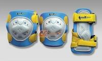 Комплект роликовой защиты Maxcity Game Blue размер S