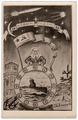 """Открытка (открытое письмо) """"С Новым 1958 Годом"""" ввмирту г. Гатчина 1957 A623501"""