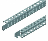 Однорядные стандартные поперечные рейки 400мм(1уп=2шт) Schneider Electric, NSYSQCR4040