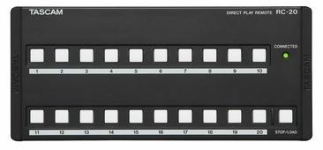 Tascam RC-20 пульт дистанционного управления для CD-500/CD-500B