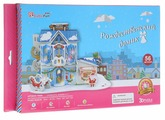 CubicFun 3D Пазл Рождественский домик 2 с подсветкой