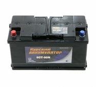 Автомобильный аккумулятор Курский аккумулятор (90 А/h), 760A L+