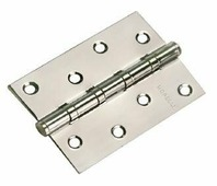 Петля дверная универсальная стальная Morelli MS 100X70X2.5-4BB SN никель