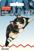 """Термоаппликация Prym """"Кошка"""", цвет: черный, бежевый, белый"""