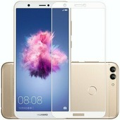Противоударное защитное стекло Full Screen Cover 0.3m белое Huawei P Smart\ Enjoy 7S