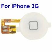 Кнопка HOME с шлейфом для iPhone 3G / 3GS (белая)