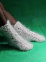 Надежда Валентиновна Вязаные носки пуховые 27