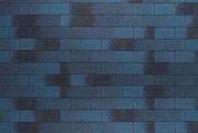 Гибкая битумная черепица Tegola Nordland Классик синий с отливом
