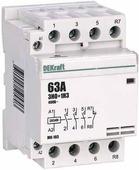 Контакторы модульные Модульный контактор 3НО+1НЗ 63А 230В МК-103 DEKraft Schneider Electric