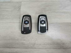 Смарт-ключ для BMW F-series всборе (3 кнопки) Цвет: Черный, частота 315mgz