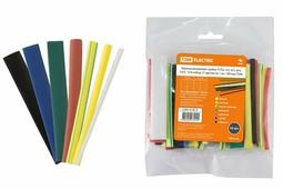 TDM ТУТнг 12/6 термоусаживаемая трубка набор (7 цветов по 3 шт. 100мм) SQ0518-0506