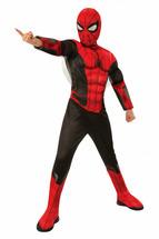 Детский костюм черно-красного Спайдермена Dlx