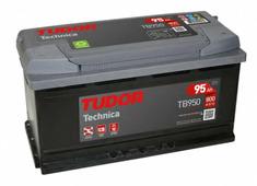 Аккумулятор для легковых автомобилей Tudor Technika TB950 (95 А/ч), 800A