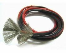 Провод Dualsky в силиконовой оболочке (красный и черный) 16 AWG сечечением 1.25мм2 (по 1 метру)