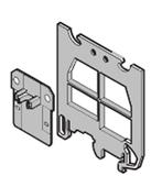 Клеммные соединения SCF6 Разделитель-торцевой изолятор для клеммников MA2.5, M4, M6, M10 под крышку CPM, серый TYCO