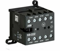 K6-22-Z Миниатюрное реле управления 3A 2НО+2НЗ 110В AC ABB, GJH1211001R8224