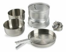Набор посуды Tatonka MULTI SET+ALC.BURN 4010.000