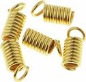 """Концевик """"Астра"""", цвет: золотистый, 4 мм, 5 шт. 7709567_LH001-B"""