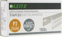 Скобы для степлера Leitz, №24/6, 1000 шт