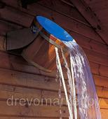 Обливное устройство для бани Дуб пропитанный с Нержавеющей вставкой на 20 л