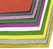 """Набор глиттерного фоамирана """"Magic Hobby"""", 2 мм, 20 х 30 cм, 10 шт. MG.GLIT.ASSOR.1"""