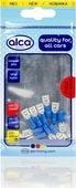 Наконечник плоский Alca, 640770, гнездовой, 7.44 мм, синий, 10 шт