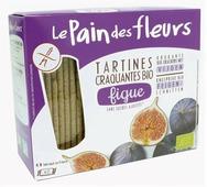 Хлебцы органические с инжиром (без глютена), Le Pain des fleurs, 150 г