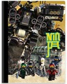 Тетрадь 100 листов в линейку LEGOНиндзяГо