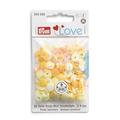 Непришивные кнопки «Color Snaps» желтые 9 мм Prym Love 393500