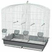 Клетка Voltrega для птицы 661 цвет белый 70x40x70 см, шт 70x40x70 см