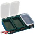 """Арт.UABM-005 Коробка рыболова """"Mikado"""" ( 11,5 х 7,9 х 2,2 см ) (UHS-005)"""