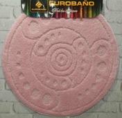 Коврик для ванной EUROBANO SIMBOL 66*66 лавандовый