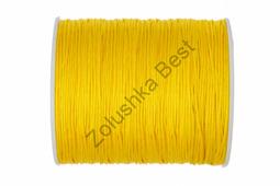 Шнур нейлоновый желтый 1 мм