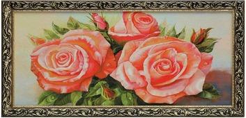 Гобелен Букет роз, 4204841, 45 х 85 см