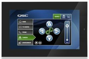 "QSC TSC-80W-G2-BK Q-SYS 8.0"" PoE Сенсорный контроллер для настенной установки"