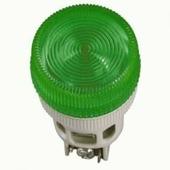 IEK Лампа ENR-22 сигнальная зеленая с подсветкой неон 240В (BLS40-ENR-K06) 1