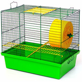 Клетка для грызунов лори Хомяк 2 33x23x29 см (4820033201566)