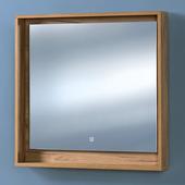 Зеркало для ванной акваль Ирис 85 (ирис.04.85.00.N)