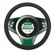 """Оплетка рулевого колеса """"Proffi"""", цвет: черный, диаметр 38 см. PA0320"""