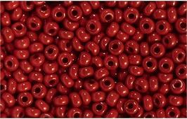 """Бисер """"Preciosa"""", непрозрачный, цвет: бордовый (93210), 10/0, 5 г. 544203_93210"""