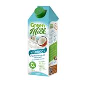 """Растительный напиток на рисовой основе """"Кокос"""" Green Milk, 750 мл."""