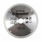 Hammer Диск пильный Hammer Flex 205-301 CSB AL 210мм*80*30/20мм по алюминию, , шт