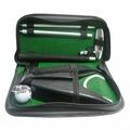 Набор для гольфа Partida c автоматической лузой в кожаном кейсе lac-1014