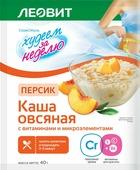 БиоСлимика Каша овсяная персик с витаминами и микроэлементами, 40 г