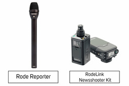 RodeLink Newsshooter Kit + Rode Reporter